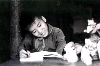 Nhà thơ Trần Đăng Khoa thủa bé